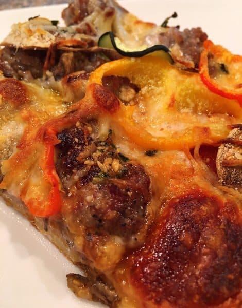 Slice of Garden Pizza