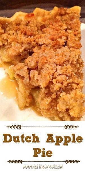 Slice of Dutch Apple Pie