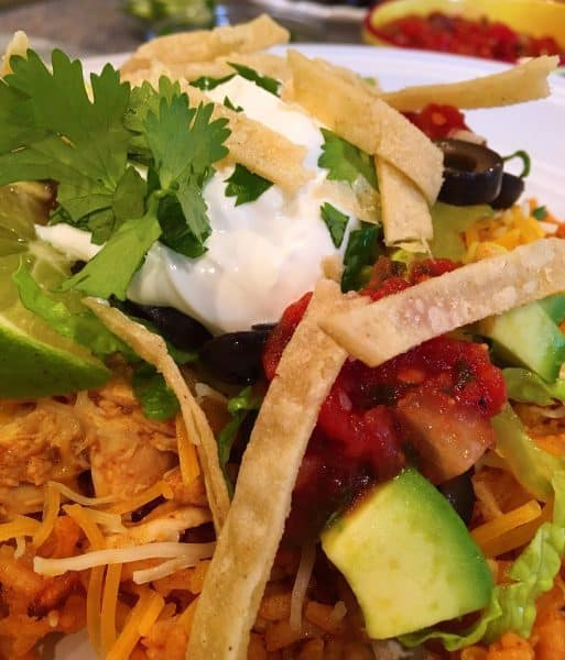 More haystack toppings for Mexican Haystacks.