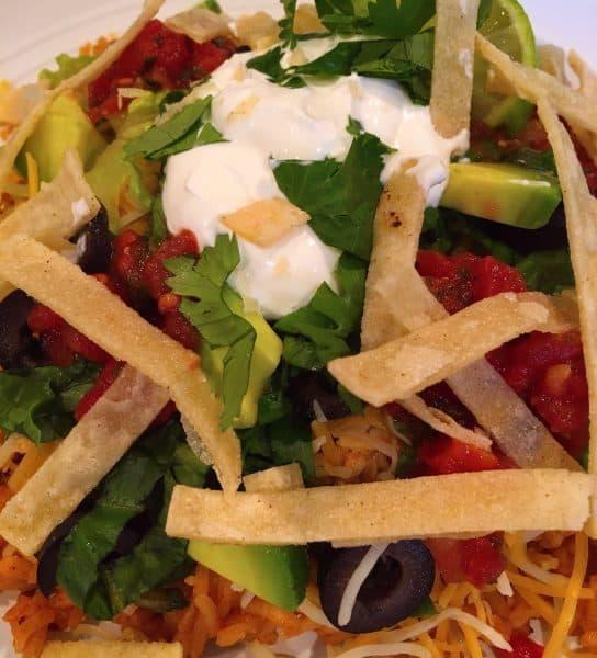 Delicious Mexican Haystacks
