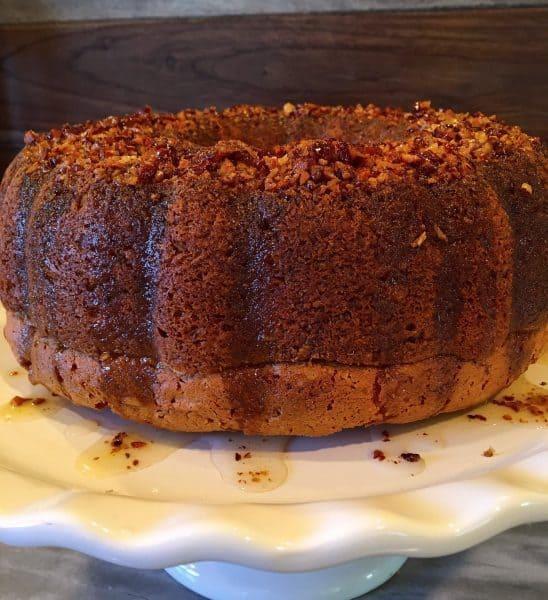 Delicious Worlds Best Rum Cake