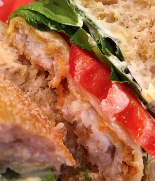 Crispy Fried Fish Sandwich