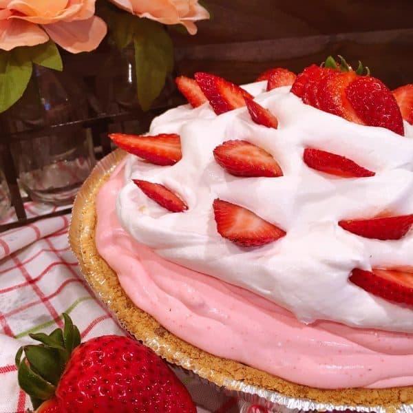 Photo of the Strawberry Cream Pie