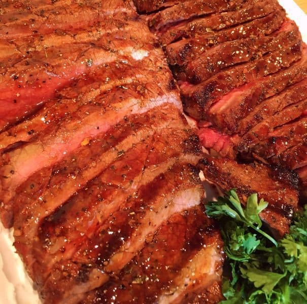 Sliced Grilled London Broil
