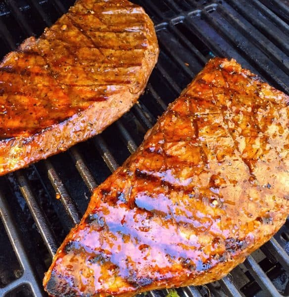 London Broil on the Grill