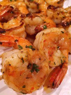 Grilled Cilantro Citrus Shrimp