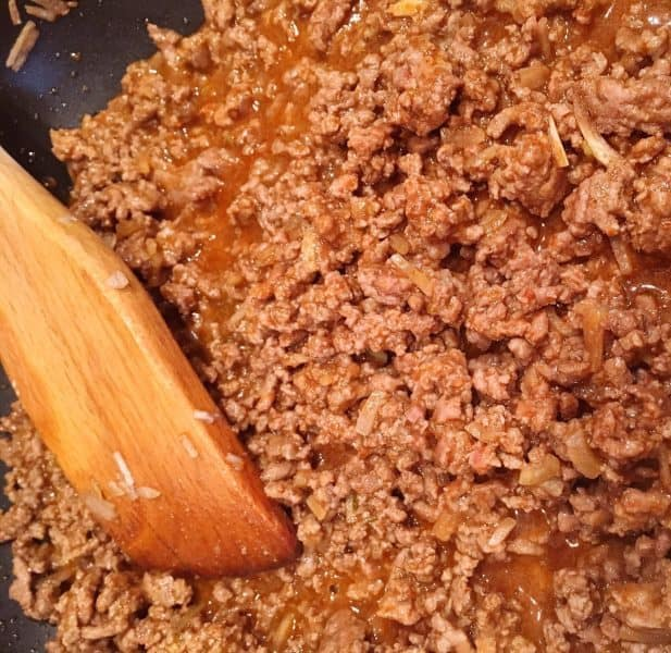Ground Beef Mixture for Enchiladas