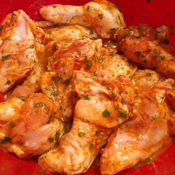 marinade wings