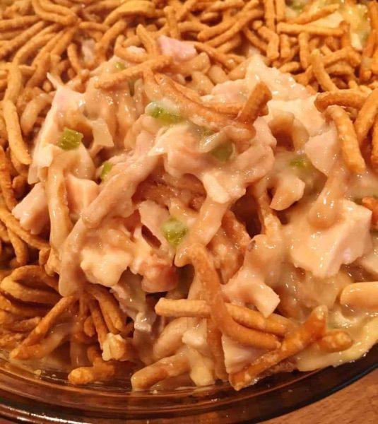 Cooked Cashew Chicken Casserole