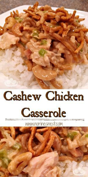 cashew Chicken Pinterest Pin