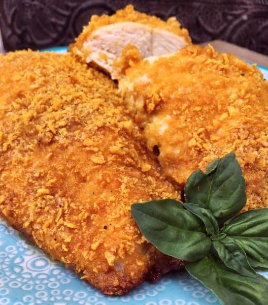 Crispy Oven Parmesan Chicken