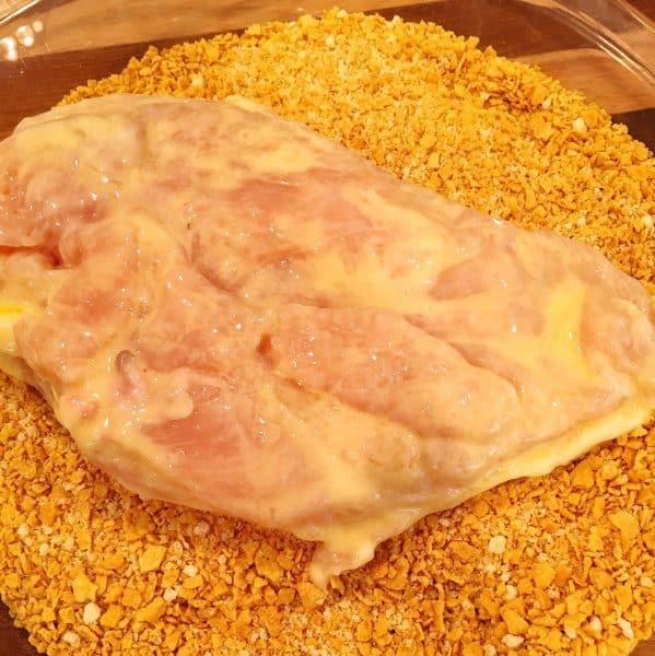 Chicken Breast in milk mixture