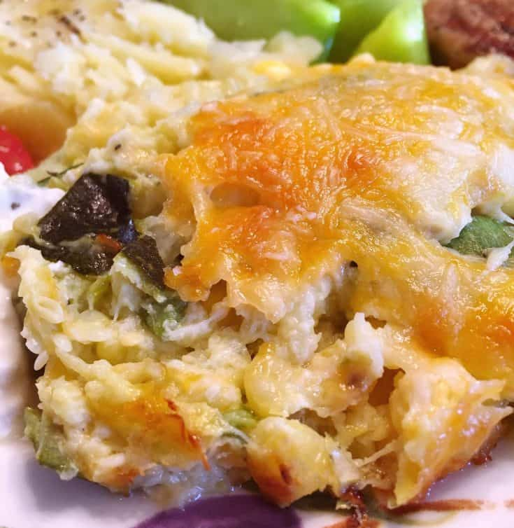 A fantastic side dish casserole perfect for picnics, family gatherings, and holidays.