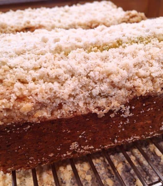 Baked Lemon Zucchini Bread