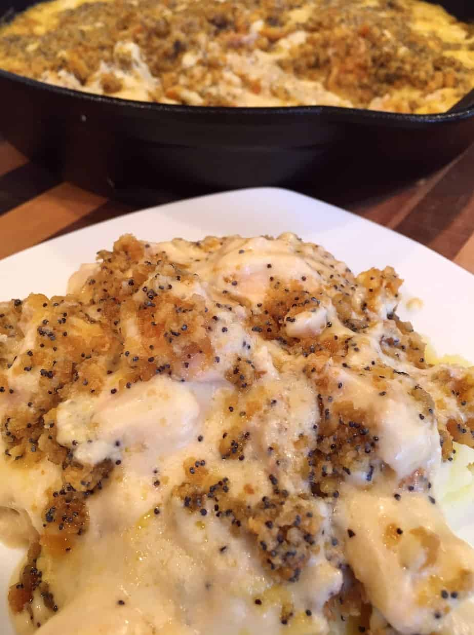 Poppy Seed Chicken Skillet Dinner