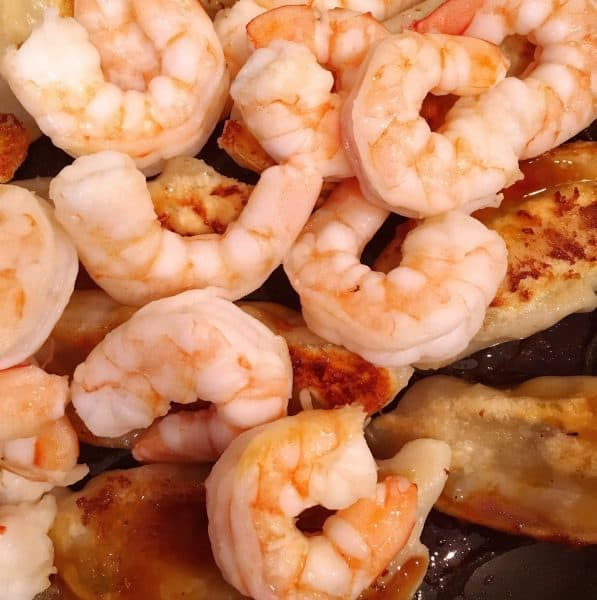 Potstickers with Shrimp
