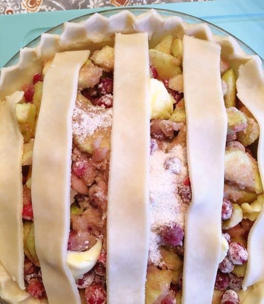 Lattice Top for Pie