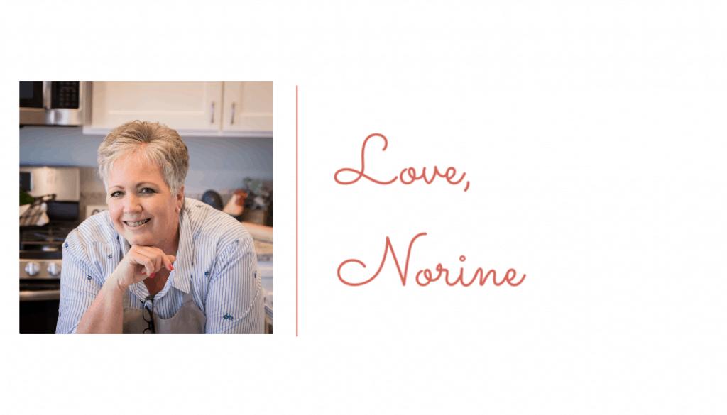 Norines Photo and signature