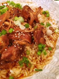 Slow Cooker Teriyaki Chicken with Rice