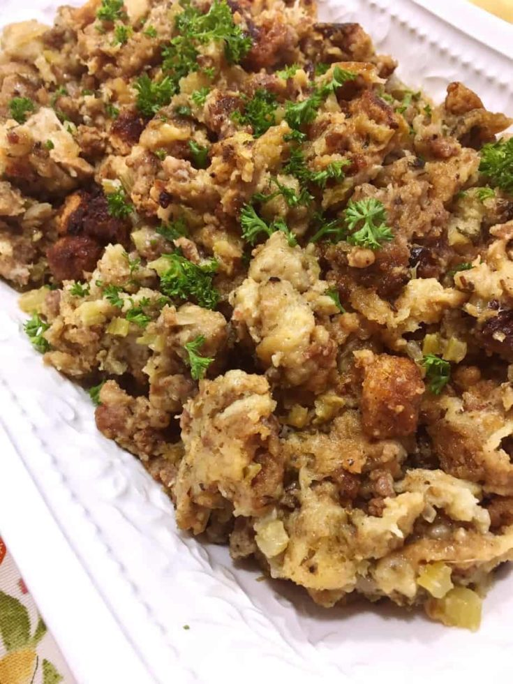 Best Sausage and Herb Stuffing
