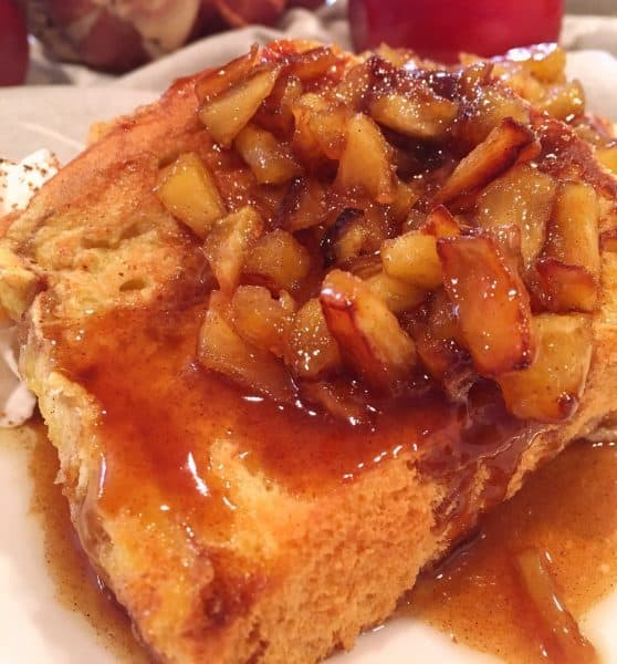 Caramel Apple Brioche French Bread