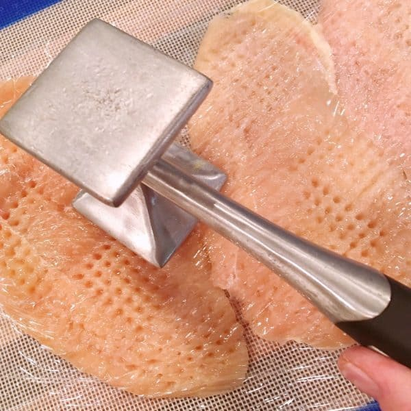 Tenderizing Chicken Breasts