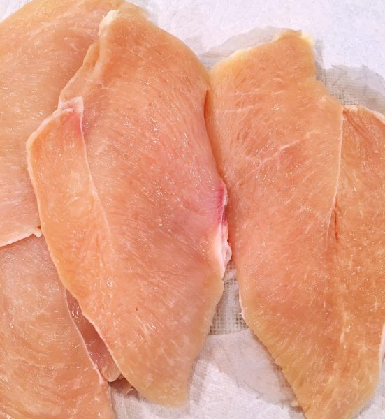 Chicken breasts fillets