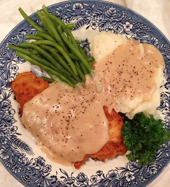 Chicken Fried Chicken with Gravy