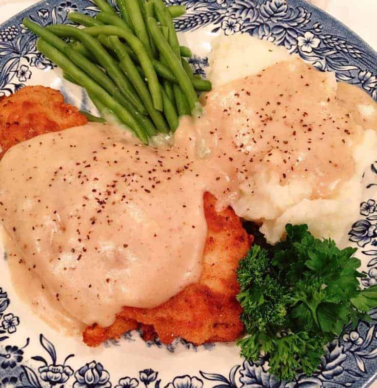 Chicken Fried Chicken with Creamy Country Gravy