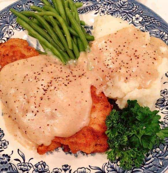 Chicken-Fried Chicken with Country Gravy