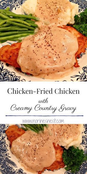 Chicken Fried Chicken Pinterest image