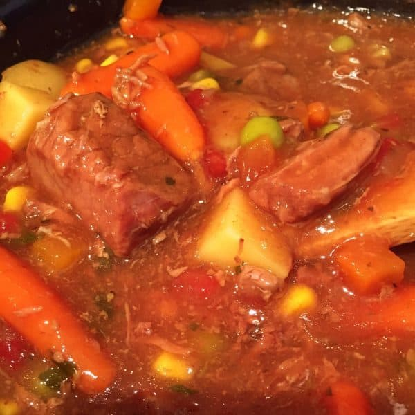 Beef Stew Up close