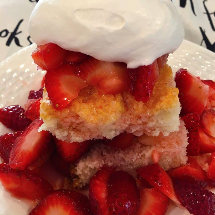 Let's get started with … Traditional Strawberry Shortcake!