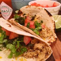 Slow Cooker Copy Cat Cafe Rio Chicken