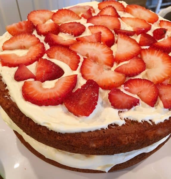 Adding another layer of berries