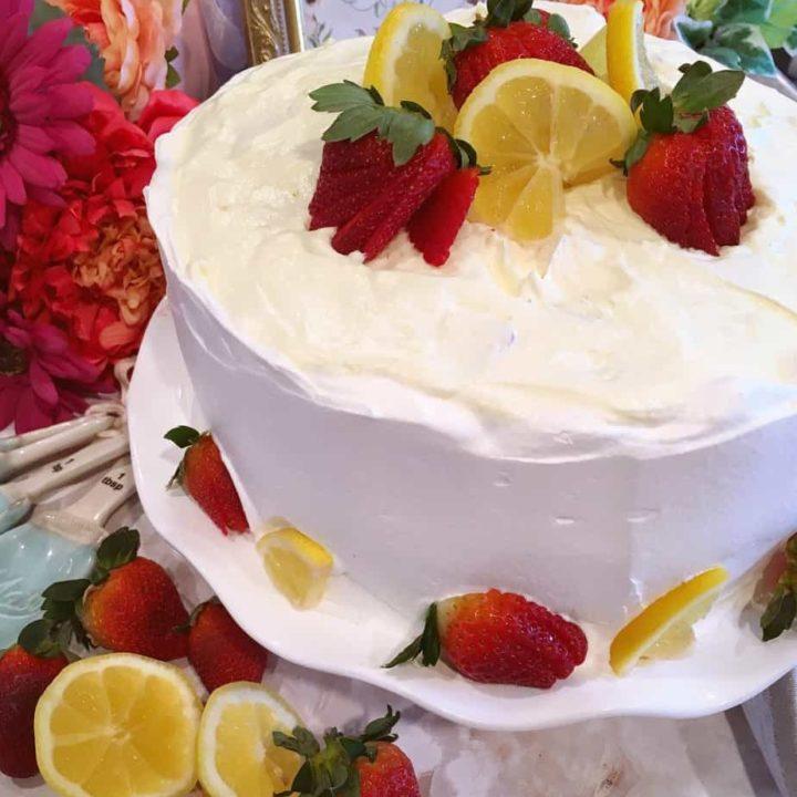 Easy Mock Lemon Chiffon Cake