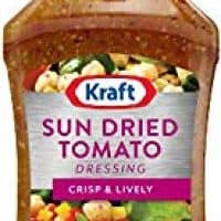 Kraft Sun Dried Tomato Vinaigrette Dressing & Marinade, 16-Ounce Plastic Bottles (Pack of 6)
