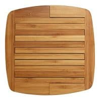 "Totally Bamboo 20-6628 Expandable Bamboo Trivet, 8.75"" by 8.75"", Brown"