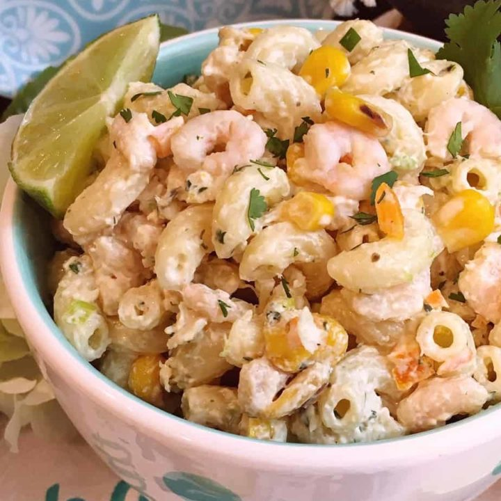 Mexican Seafood Pasta Salad