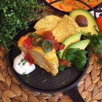 Slow Cooker Layered Chicken Enchilada Recipe