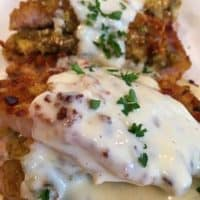 Easy Stuffed Pork Chops