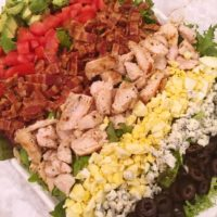 Classic Grilled Chicken Cobb Salad