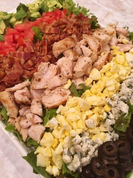 Family Size Grilled Cobb Salad