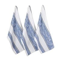 DII CAMZ11108 Cotton Jacquard Dish, Decorative Oversized Towels, Perfect Home and Kitchen Gift, 18x28, Fish