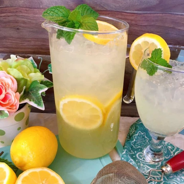 Fresh Homemade Lemonade Recipe Norine S Nest