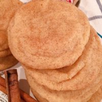 Classic Chewy Snickerdoodles