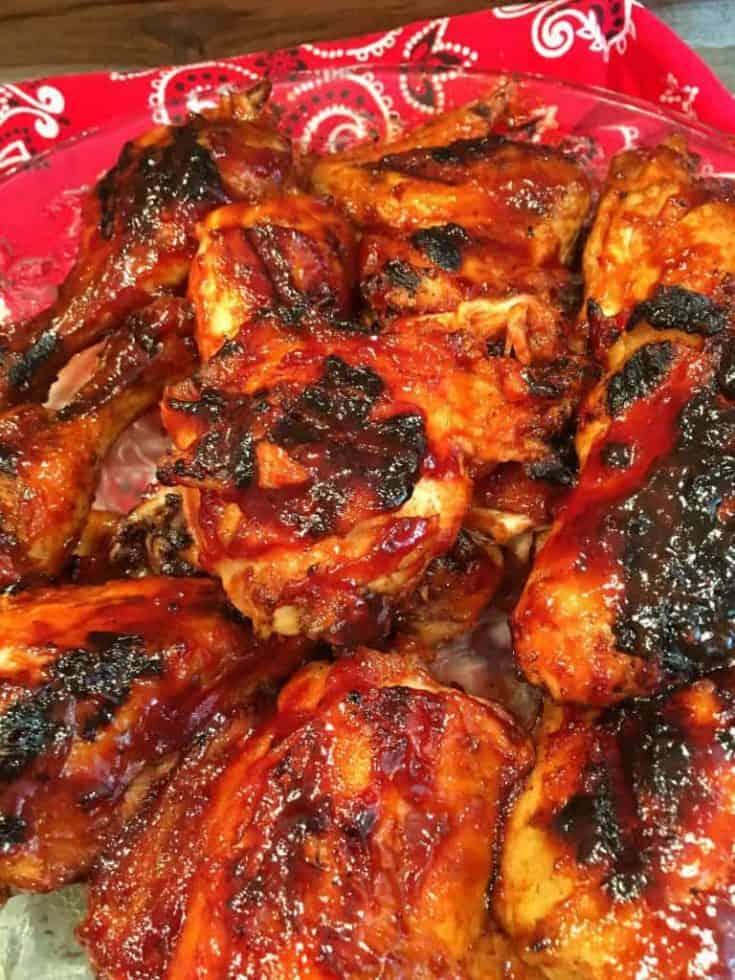 Cherry Dr. Pepper BBQ Chicken