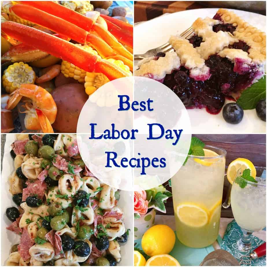 All the Best Labor Day Recipes Collage