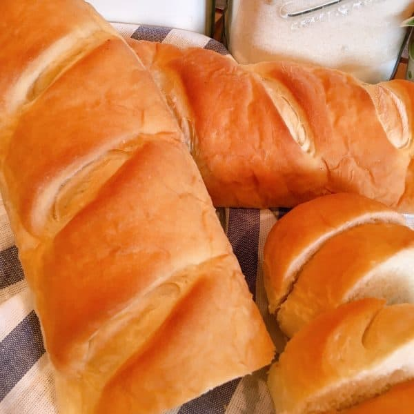 French Bread fresh out of the oven