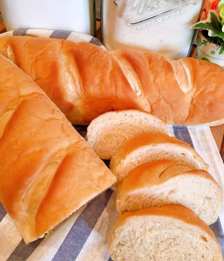 A delicious, quick, and easy homemade soft French bread or Hard Roll recipe that is sure to become your favorite bread recipe.